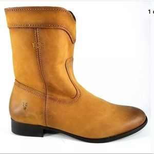 Frye cara short riding leather  boots 8.5
